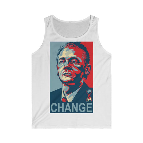 Wikileaks CHANGE- Men's Softstyle Tank Top