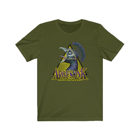 Argus Ink (Color)- Unisex Jersey Short Sleeve Tee
