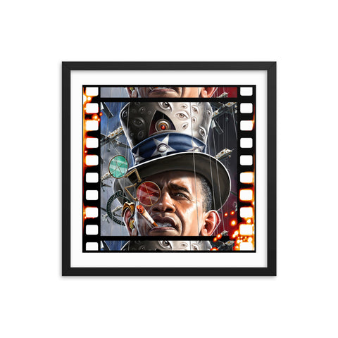 SURVEILLANCE STATE THEATER- Framed photo paper poster