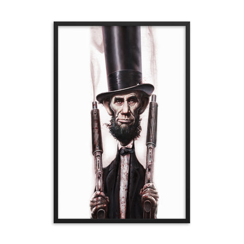 THE ABOLITIONATOR- Framed photo paper poster