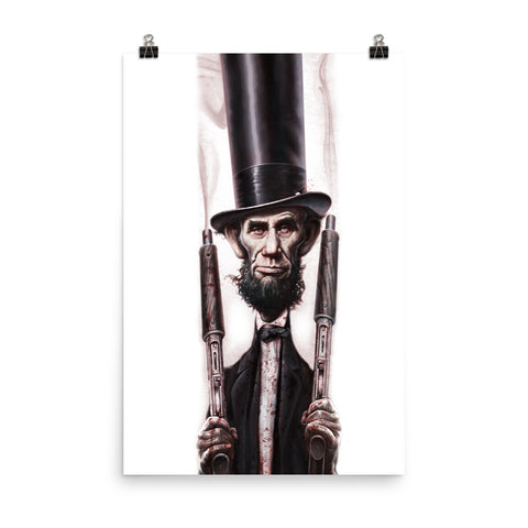 THE ABOLITIONATOR- Matte paper poster