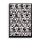 CONTROL MATRIX- Framed photo paper poster