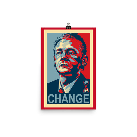 WIKILEAKS CHANGE- Photo paper poster