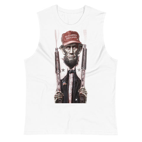 ZOMBIE MAGA LINCOLN- Muscle Shirt