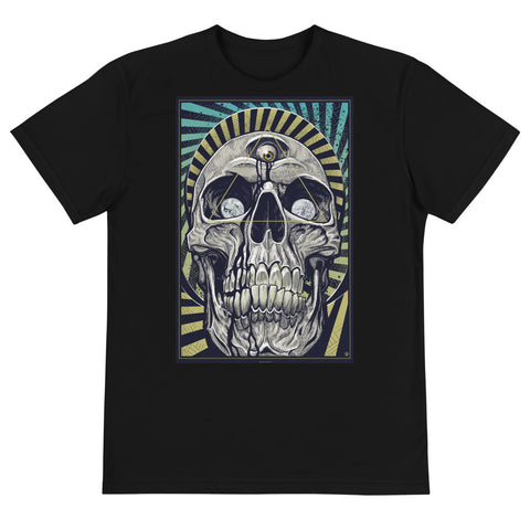 DEATH AND TAXES- Next Level 4600 Unisex Eco Tee