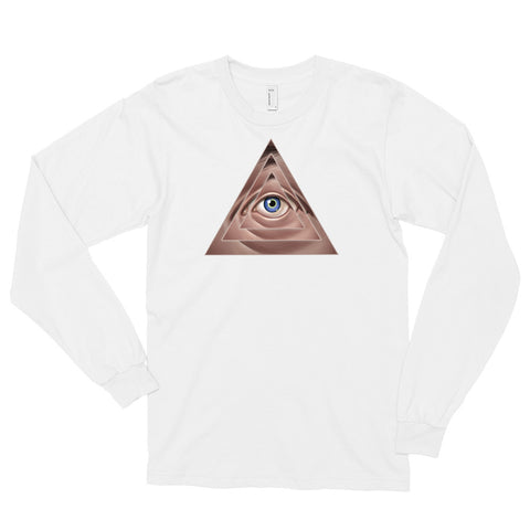 THE ILLUSION OF EXTERNAL AUTHORITY- Long sleeve t-shirt