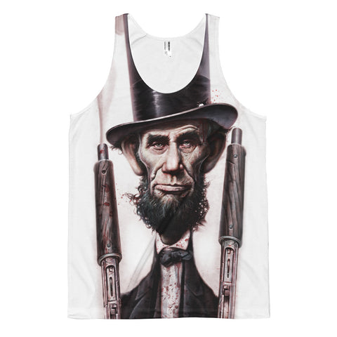 THE ABOLITIONATOR- American Apparel PL408W Sublimation Tank