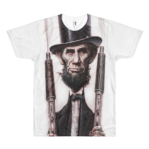 THE ABOLITIONATOR- American Apparel PL401W Sublimation T-Shirt