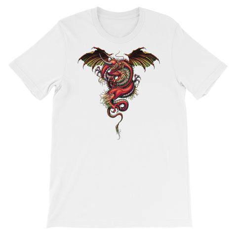 DRAGON ENERGY- Bella + Canvas 3001 Unisex Short Sleeve Jersey T-Shirt