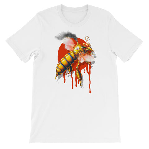 MECHANICAL BEE- Bella + Canvas 3001 Unisex Short Sleeve Jersey T-Shirt