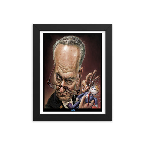 CHUCK SCHUMER T.D.S.- Enhanced Matte Paper Framed Poster (in)