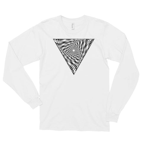 DNA DIMENSION- American Apparel 2007 Unisex Fine Jersey Long Sleeve T-Shirt