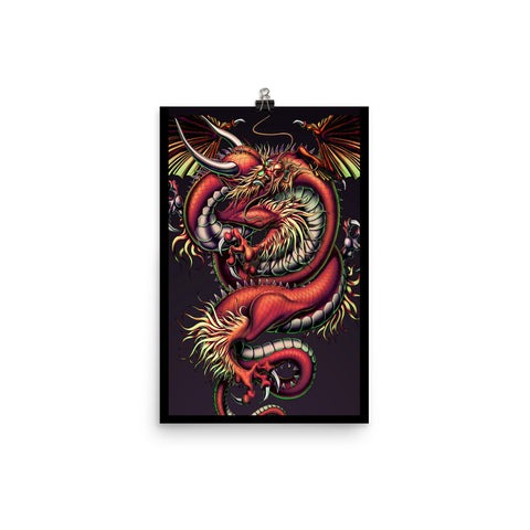 DRAGON ENERGY- Photo paper poster