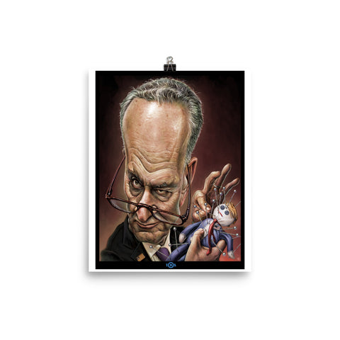 CHUCK SCHUMER T.D.S.- Photo paper poster