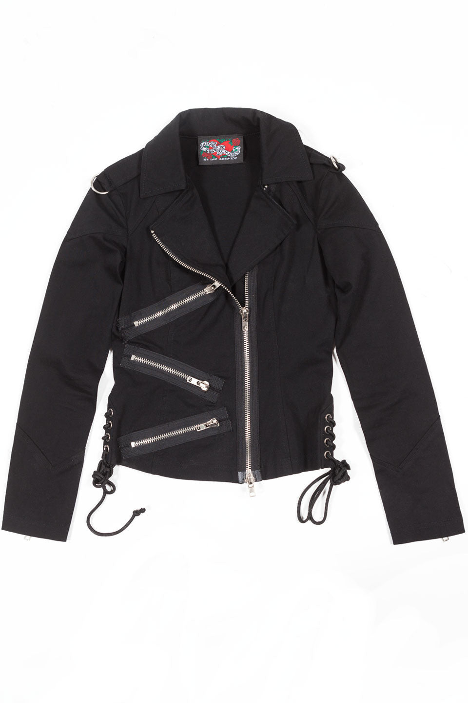 Chained To The Radiator Moto Jacket - Jacket - Lip Service
