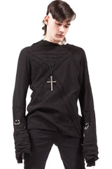 Dead Today Unisex Gauze Shirt-Tops-Lip Service