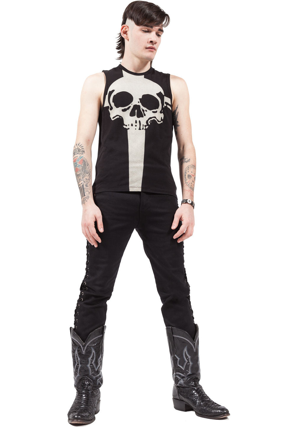 Death Dealers Muscle Tee-Tops-Lip Service
