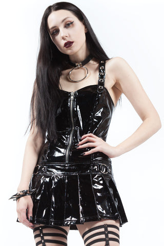 Kill Me Now Micro Mini Dress-Dresses-Lip Service