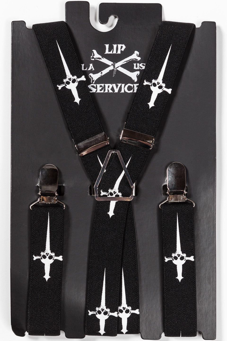 Classic Dagger Suspenders-Accessories-Lip Service