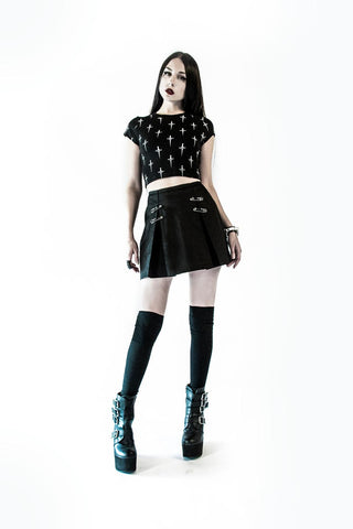 Punk & Disorderly Skirt-Bottoms-Lip Service