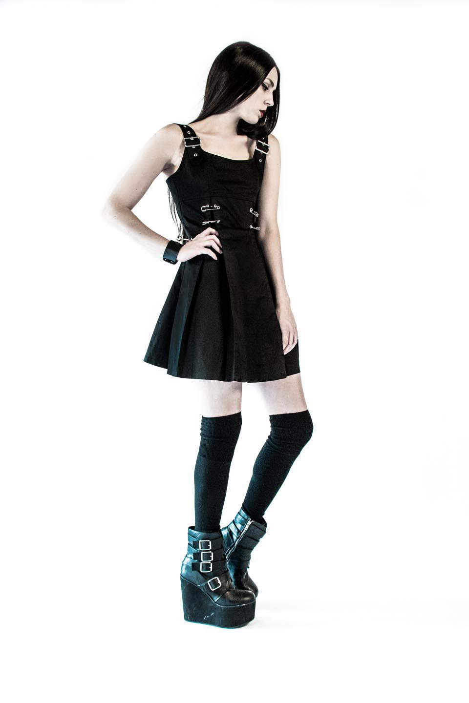 Punk & Disorderly Dress-Dresses-Lip Service