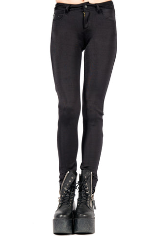 Straight From The Heart Glam Spandex Jean