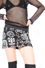 Printed Skirt-Skirts-Lip Service