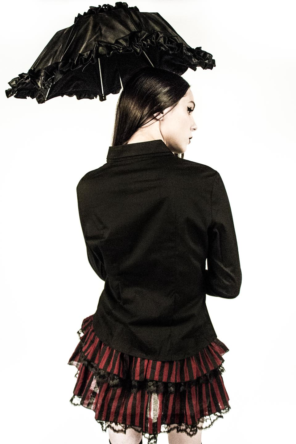 Vintage Blacklist Dark Circus Skirt-Bottoms-Lip Service