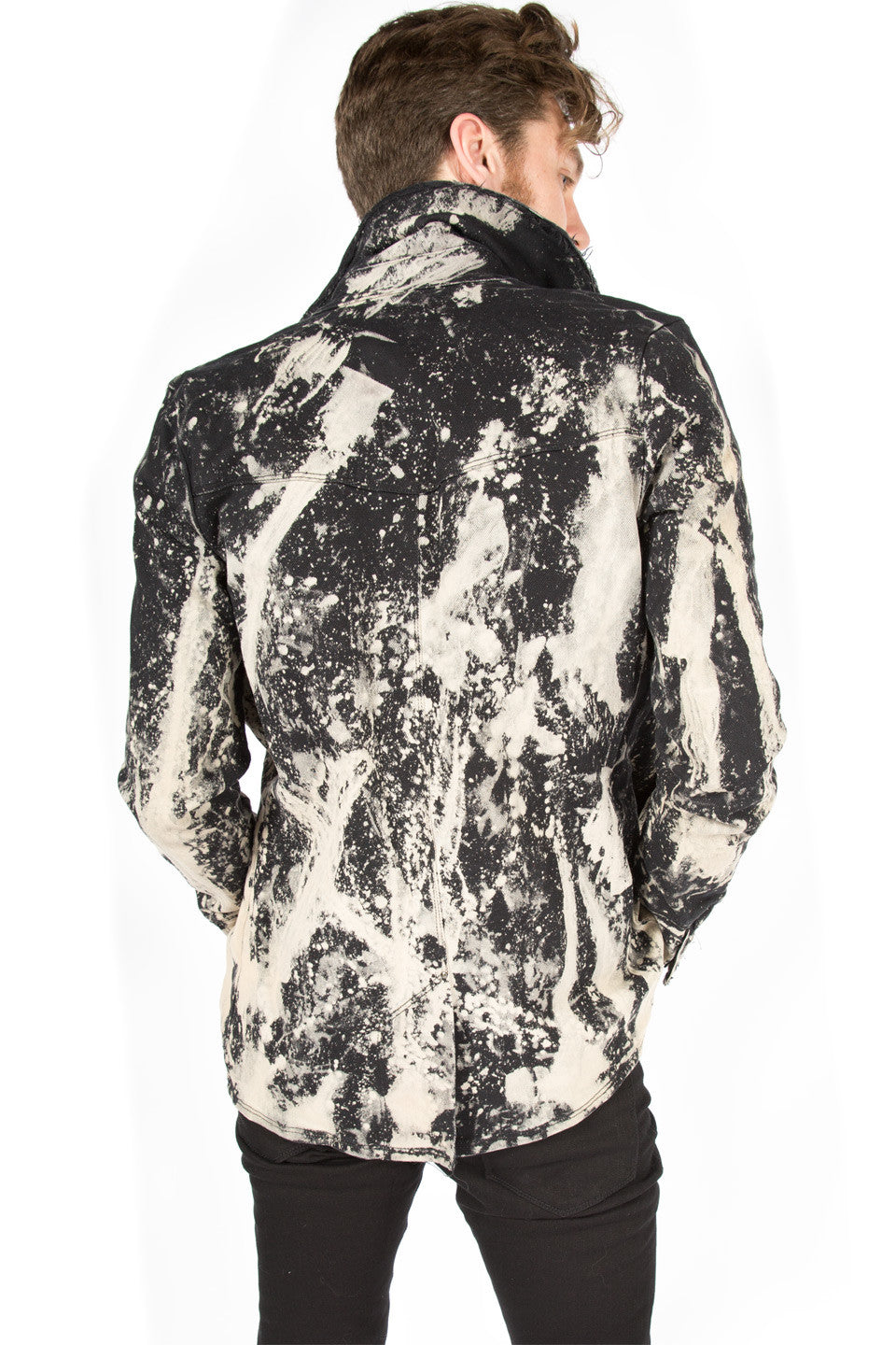 Porn Splatter Stretch Twill Jacket - Jacket - Lip Service