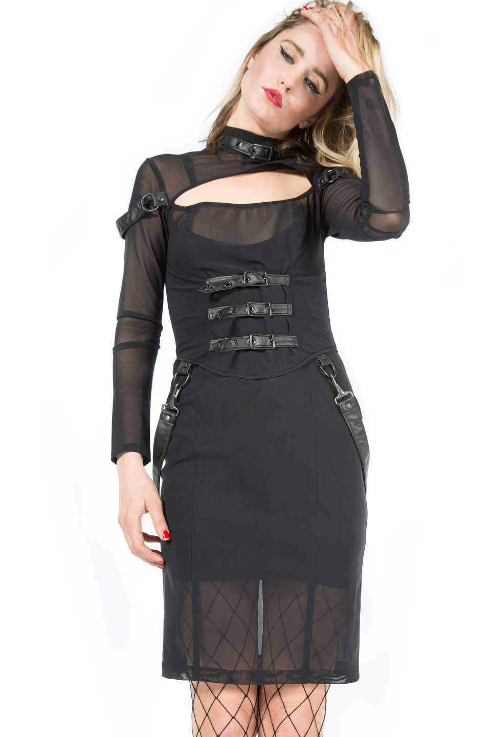 Mesh Dress-Dresses-Lip Service