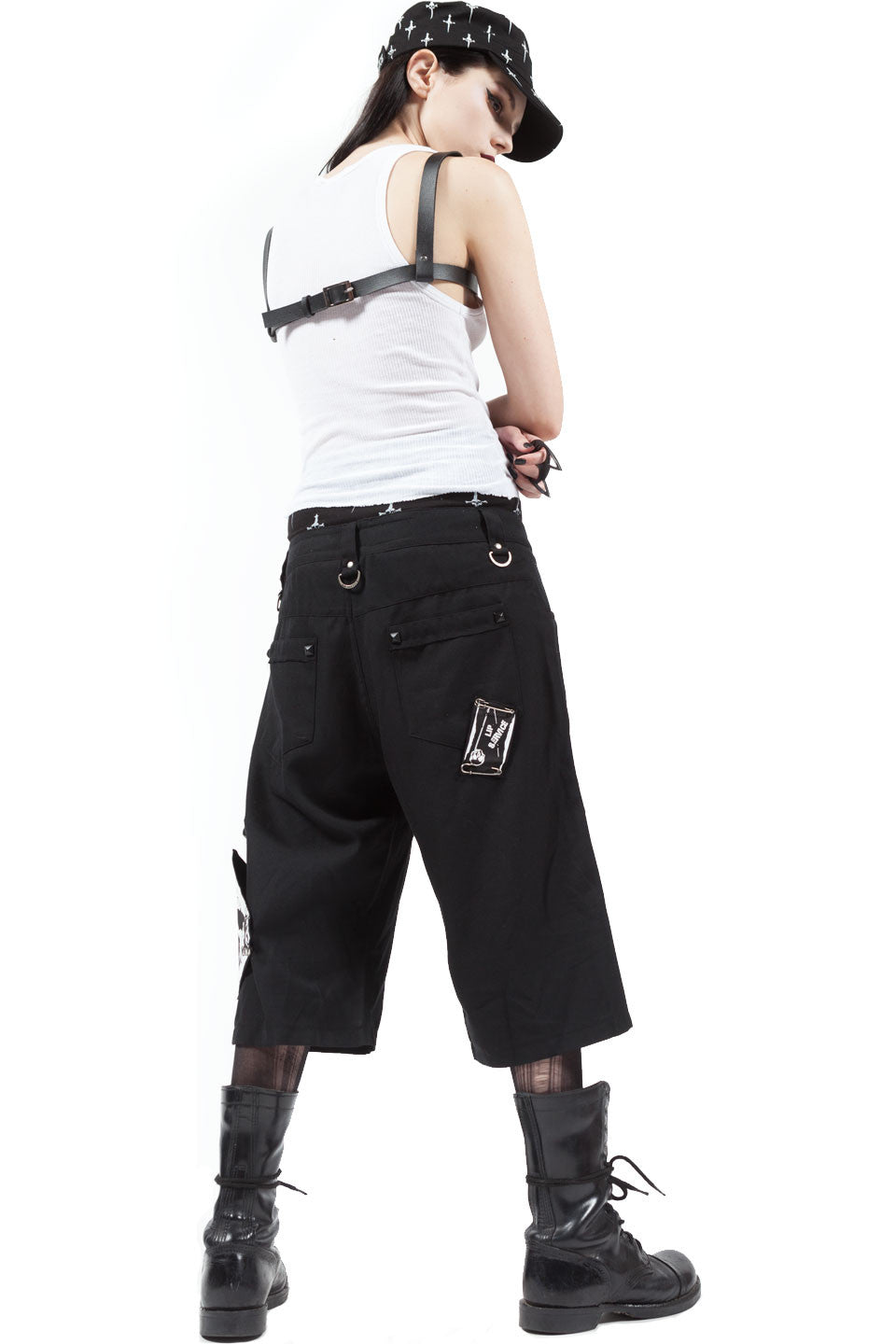 Punk & Disorderly Unisex Shorts-Bottoms-Lip Service