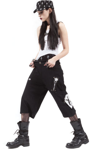 Punk & Disorderly Unisex Shorts - Bottoms - Lip Service