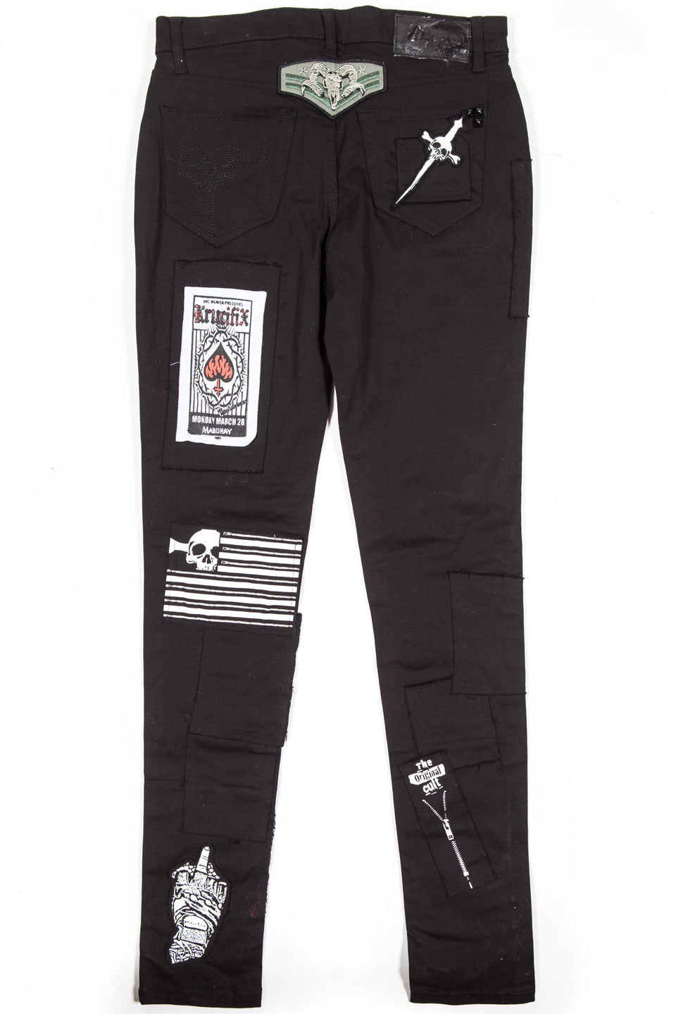 Punk & Disorderly Patch Jean - Bottoms - Lip Service