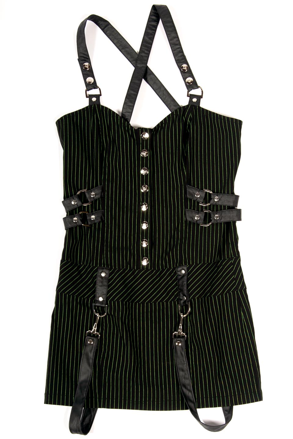 Vintage Gangster Prankster Dress-Dresses-Lip Service