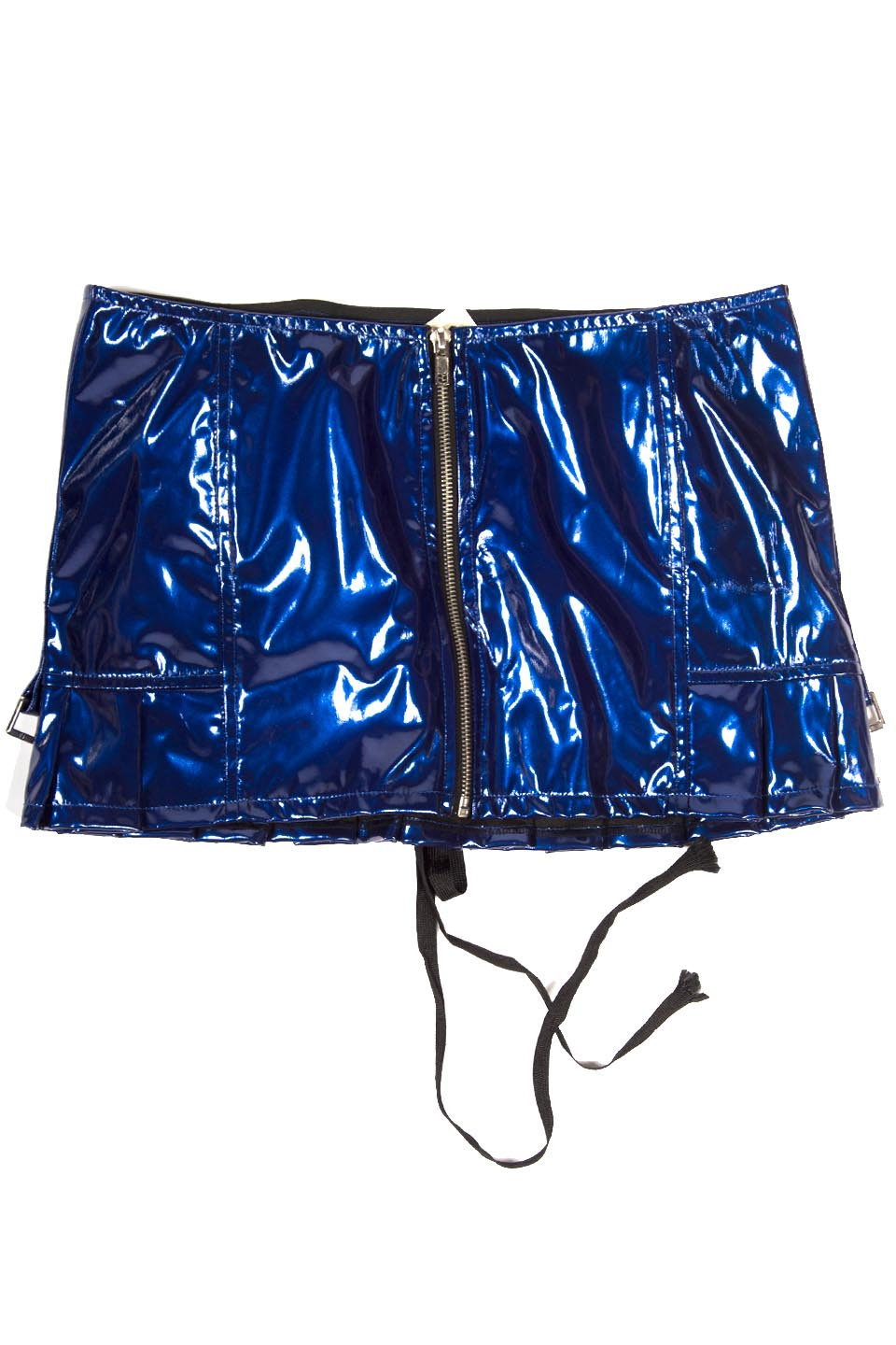 Vintage Vice PVC Mini-Skirts-Lip Service