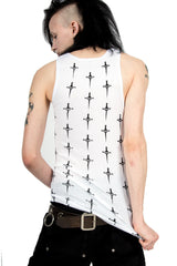 Dagger Repeat Tank-Tops-Lip Service