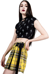 Vintage Perfectly Punk Mini Skirt-Skirts-Lip Service