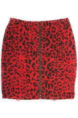 Vintage Leopard Pencil Skirt-Skirts-Lip Service