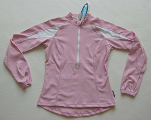 Sport, Cycling Bike, Clothing Jersey Top Long Sleeve Ladies Women (Musk Pink)