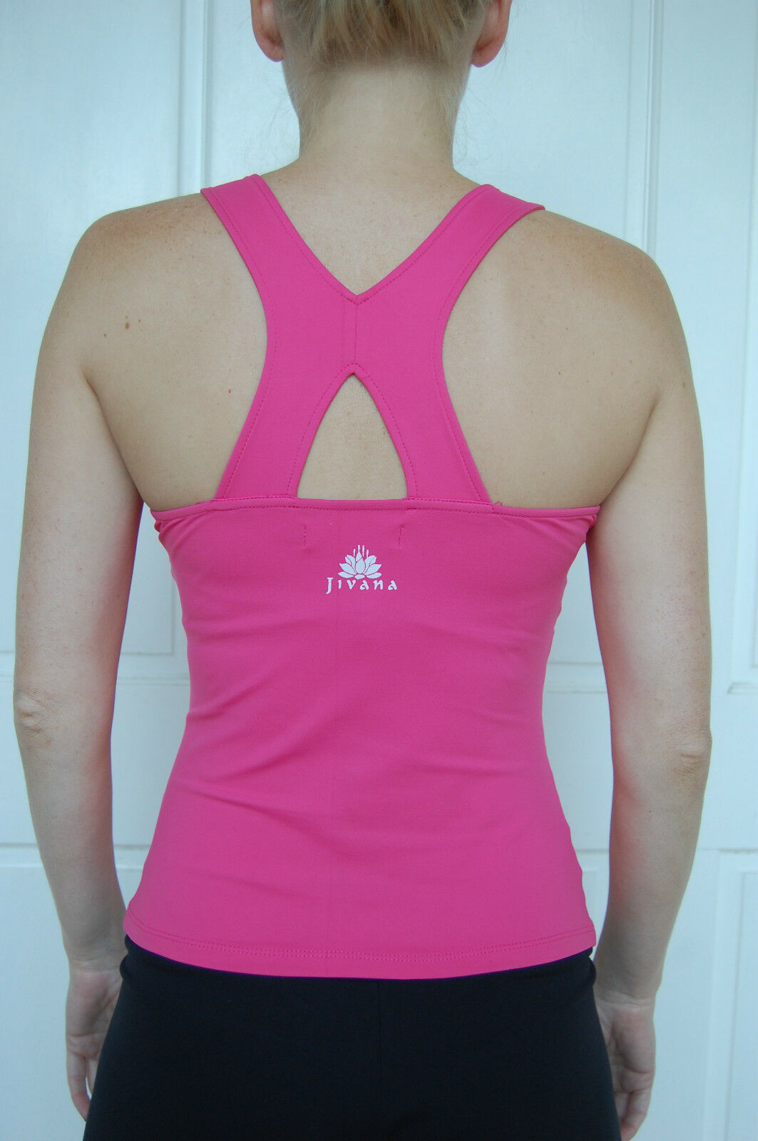 Sporting Clothing Gym Fitness Yoga Top Ladies Womens (Hot Pink)*