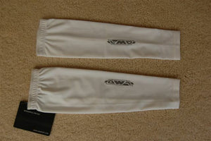 Sporting Clothing Cycling Bicycle Accessories Arm Warmers Unisex (White)