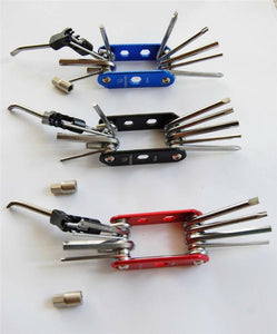 Bicycle tools (folding repair kit)