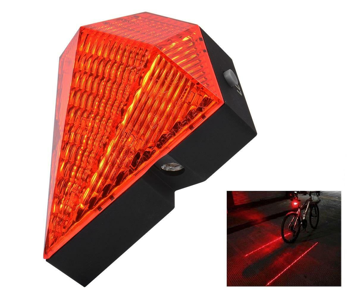 Portable, USB rechargeable, Cycling tail light