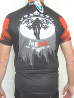 Sporting Clothing Cycling Bike Jersey Shirt Unisex (Black & Red)