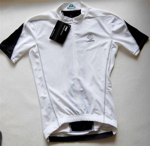 Women's cycling jersey (black & white)