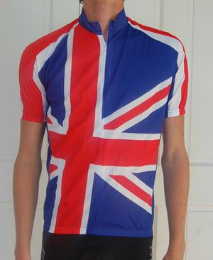 Unisex British flag jersey (Blue, Red & White)