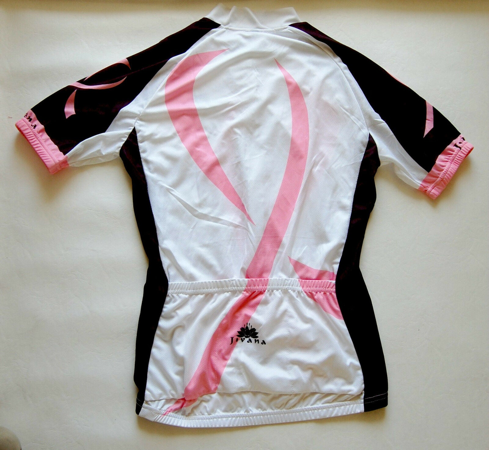 Cycling Sport Clothing Jersey & Pant Short set Ladies, Women (pink & black)