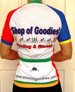 Sporting Clothing Cycling Bike Jersey Women Ladies (Multicoloured)