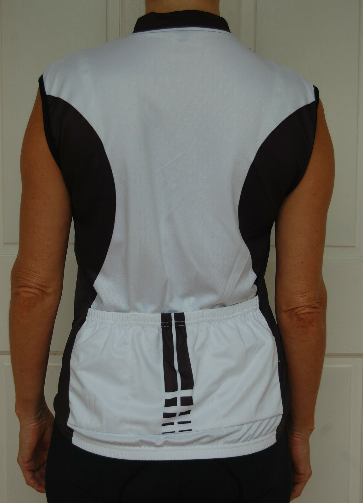 Cycling Sport Clothing Jersey Unisex (Black & White)