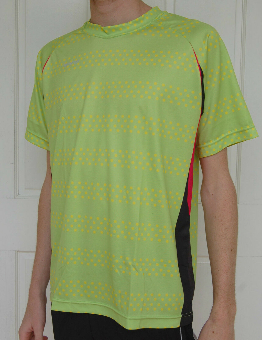 Munter Mens Fitness Sports Gym Run cycle shirt top size S M L Green*